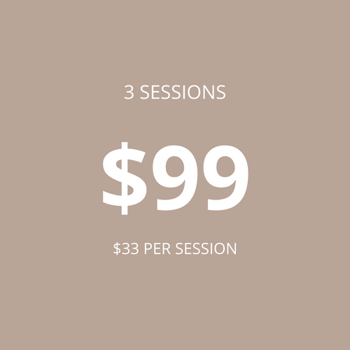 WEI ZONE - 3 Sessions