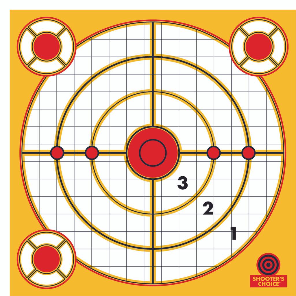 Peel and Stick Range Targets