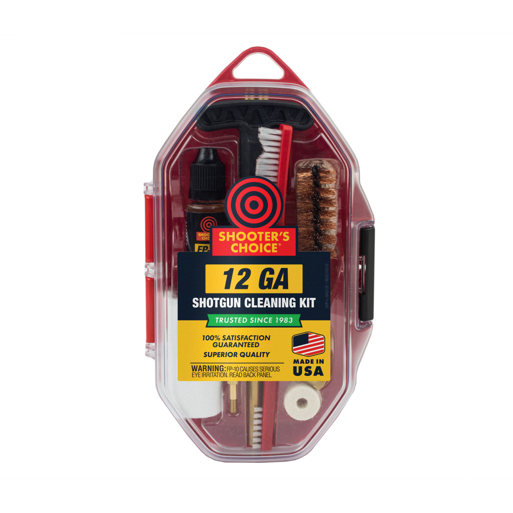 12 GA Shotgun Cleaning Kit