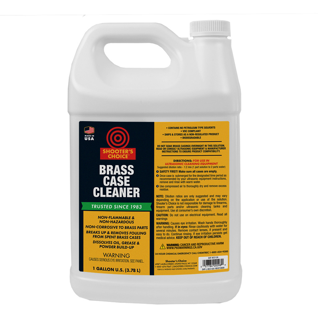 Brass Case Cleaner 1 Gallon