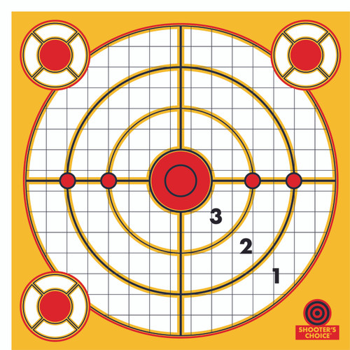 Peel and Stick Range Targets