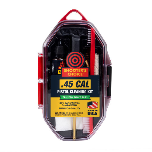 .45 cal Pistol Cleaning Kit