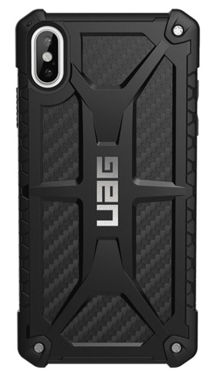 huge selection of f3dac 619b3 UAG Monarch Case for iPhone Xs Max - Carbon Fibre