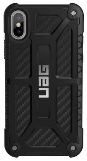 f73e7015cf3273 UAG Monarch Case for iPhone X/Xs - Carbon Fibre