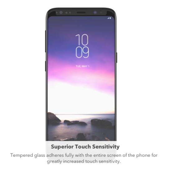 Zagg InvisibleShield Tempered Glass Curve Elite for Samsung