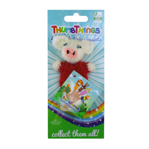 Handmade and Eco-Friendly Three Little Pigs Finger Puppet
