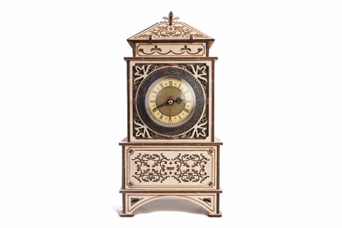 Natural Solid Wooden 3D Classic Clock