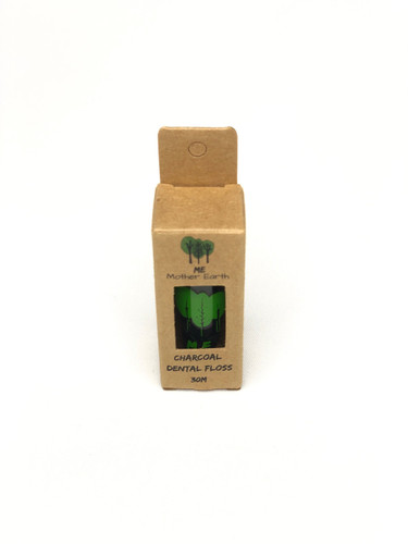 VEGAN Biodegradable Charcoal Dental Floss- Single