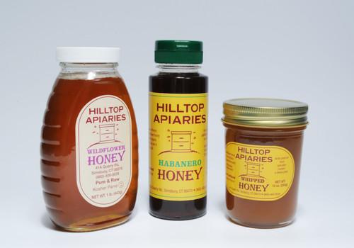 Wildflowe sweet Honey Sampler