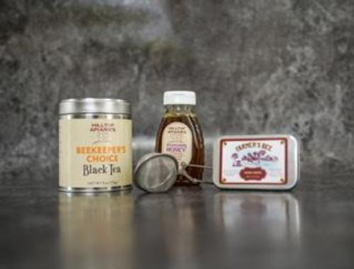Wildflower Honey, Black Tea & Farmer's Bee Honey Drops Gift Box
