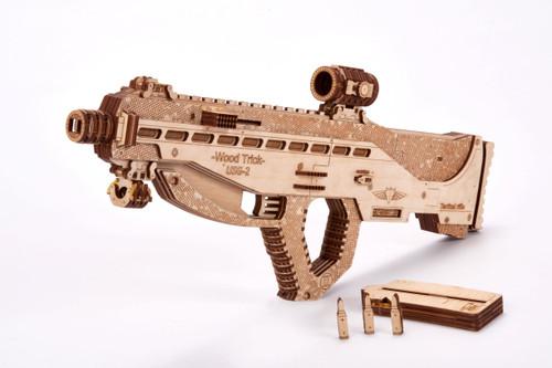 Natural Wooden Eco-Friendly Assault USG-2