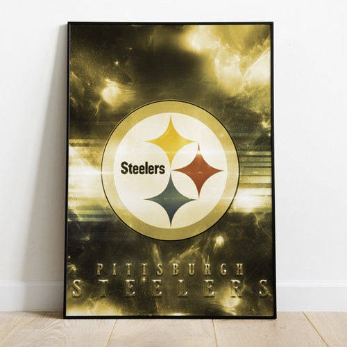 PITTSBURGH STEELERS - Printed Poster W/ Latest Technology