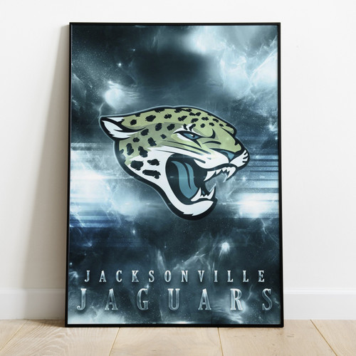 JACKSONVILLE  JAGUARS - Printed Poster W/ Latest Technology