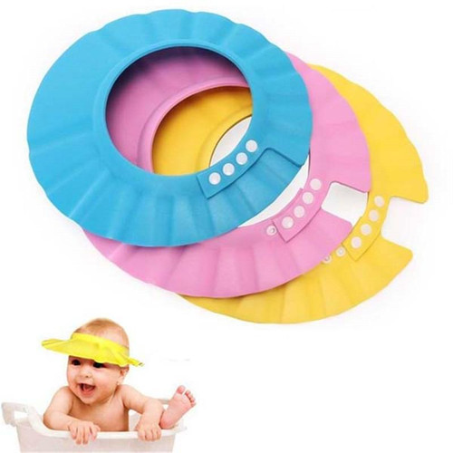 Safe Shampoo Shower Bathing Bath Protect Soft Cap Hat For Baby