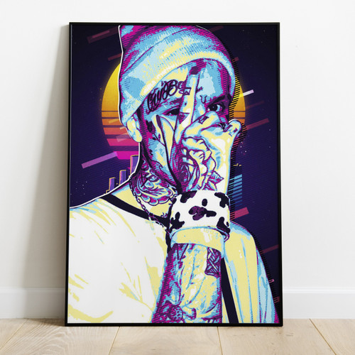 LIL PEEP - Printed Poster With Latest Technology