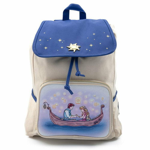 Loungefly Disney Tangled Rapunzel Flynn Slouch Backpack