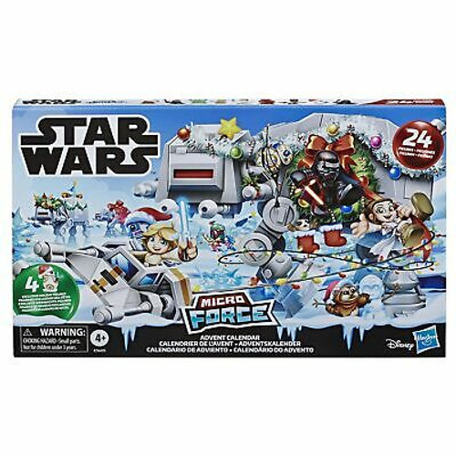 Star Wars Sw E9 Micro Force Advent Calendar