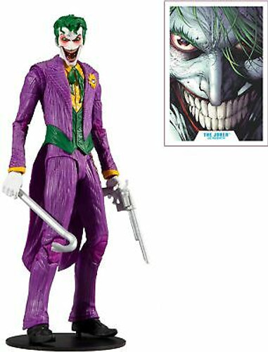 "McFarlane Toys DC Multiverse The Joker: DC Rebirth 7"" Action Figure, Multicol..."