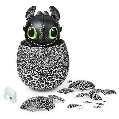 Dreamworks Dragons, Hatching Toothless Interactive Baby Dragon with Sounds, f...