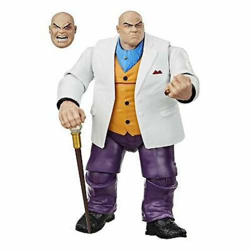 Spider-Man Hasbro Marvel Legends Series 6-inch Collectible Marvel's Kingpin A...