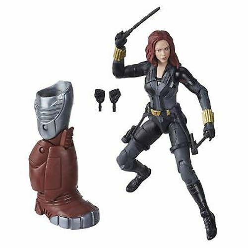 Marvel Hasbro Black Widow Legends Series 6-inch Collectible Black Widow Actio...