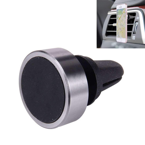 Magnetic Car Mount Holder With Rubber Grip On Magnetic Surface