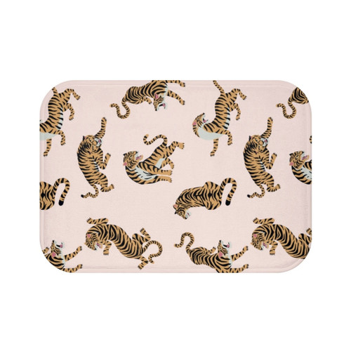 "24"" x 17"" Leopard Print Bath Mat"