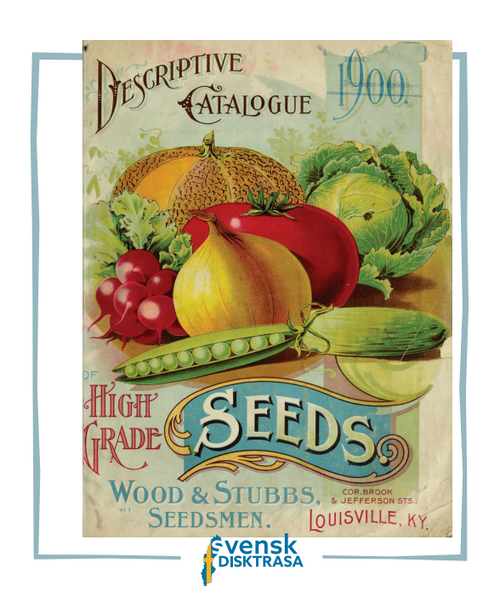 Cover of Seed Catalog Swedish Dishcloth - Ultra Absorbent