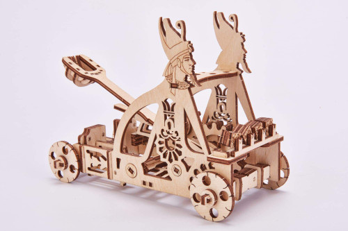 Unique Wooden Model Of Catapult- Made Of Eco-Friendly Wood
