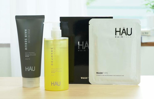 HAU Professional Premium Hair Care Series for Damaged Dry Hair and All