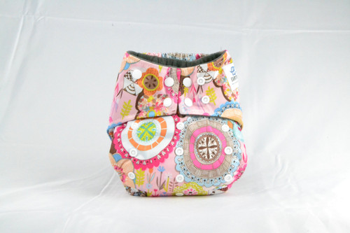 Waterproof outer lining Earthlie Cloth Diaper - Boho
