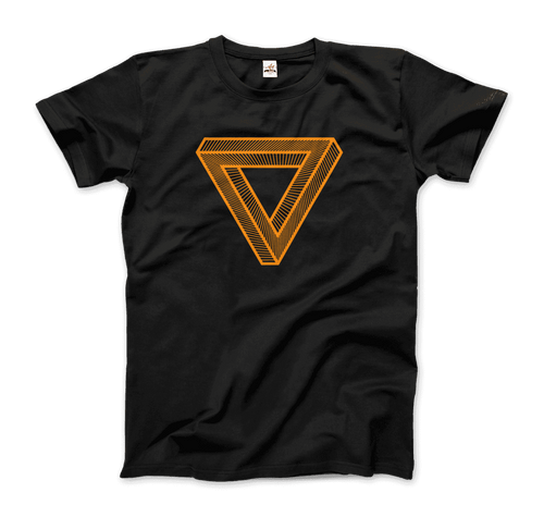 The Penrose Triangle From A Journey Through Time - Super Soft DARK T-Shirt