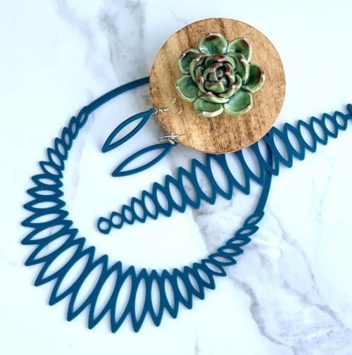 WILD Deep Teal Flexible Waterproof Bracelet