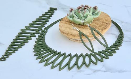 APARA Jewels WILD Delightful Olive Lightweight Soft Bracelet