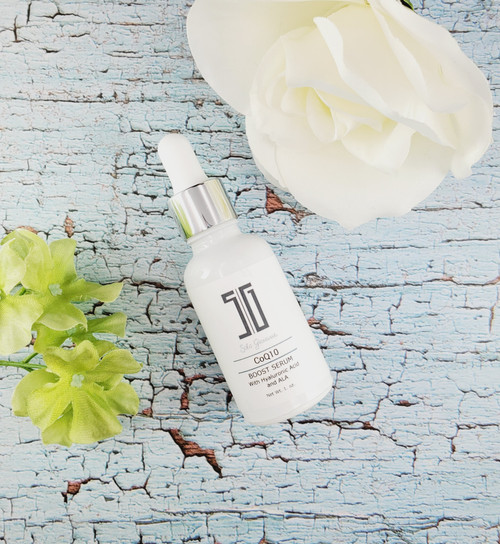 Coq10 Boost Serum- Diminish Fine Lines, Wrinkles & Pores