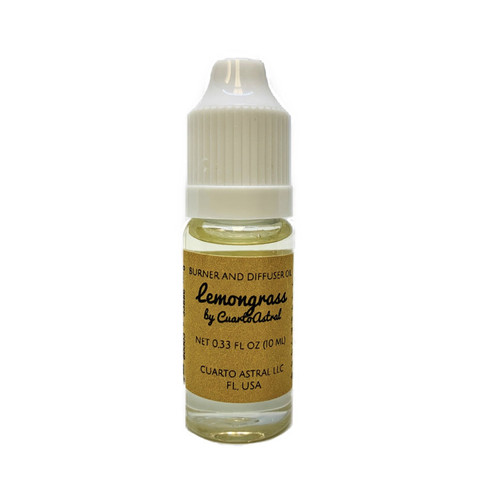 Lemongrass Burner and Diffuser Oil- Relieve Stress, Anxiety & Depression