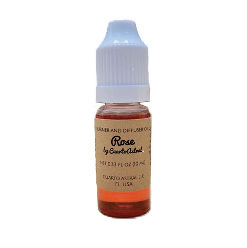 Rose Burner and Diffuser Oil- Wonderful Peaceful Aroma Cleanses Tha Space