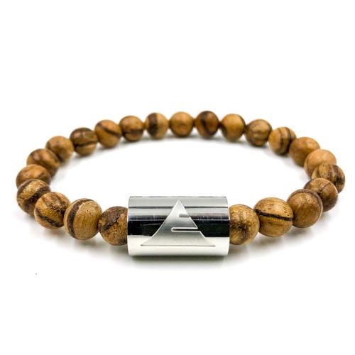 Timber - Light Sandalwood Beads Bracelet