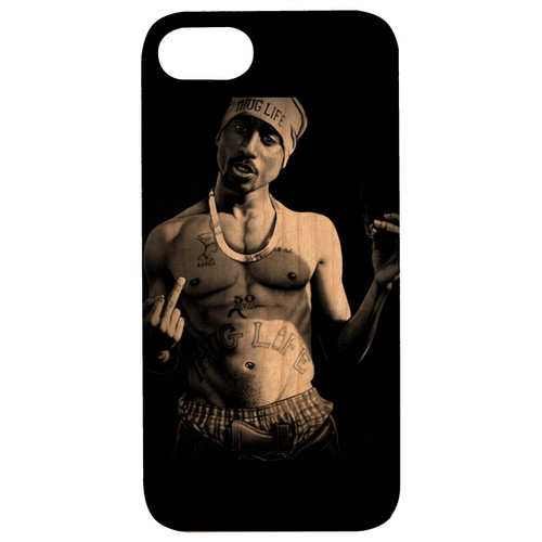 2PAC - Eco-Friendly UV Color Printed Wooden Phone Cases
