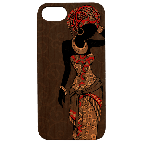 African Woman - Eco-Friendly UV Color Printed