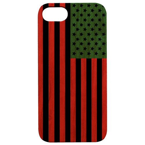 Afro American Flag - Eco-Friendly UV Color Printed