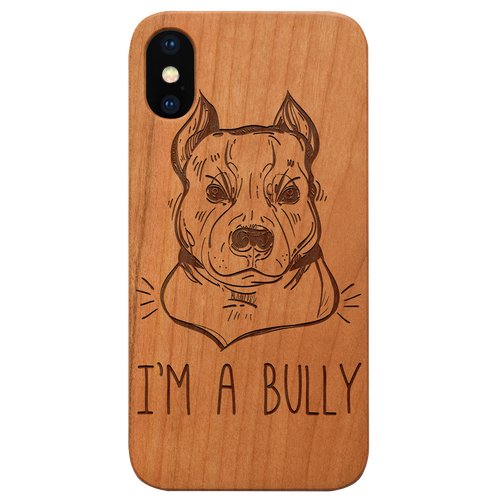 Bully -  Eco-Friendly Wooden Engraved Phone case
