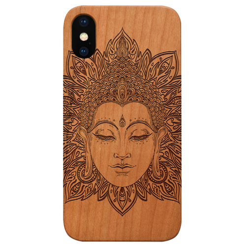 Buddha 3 -  Eco-Friendly Wooden Engraved Phone case