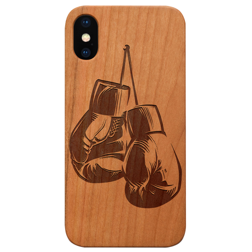 Boxing Gloves - Eco-Friendly Wooden Engraved Phone case