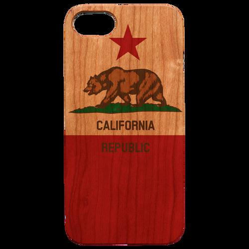 California Flag - Eco-Friendly UV Color Printed Phone case