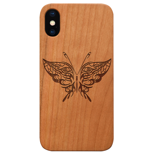 Butterfly 1 - Eco-Friendly Engraved Phone case