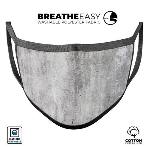 Scratched Concrete - Mouth Cover Unisex Anti-Dust Cotton Face Mask