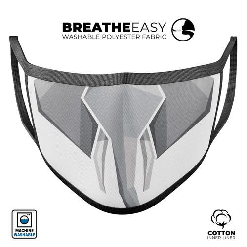 Geometric Elephant - Mouth Cover Unisex Anti-Dust Cotton Face Mask