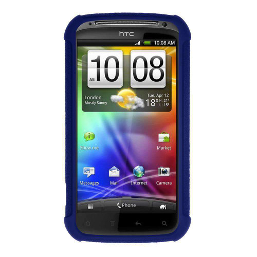 AMZER Silicone Skin Jelly Case for HTC Sensation 4G