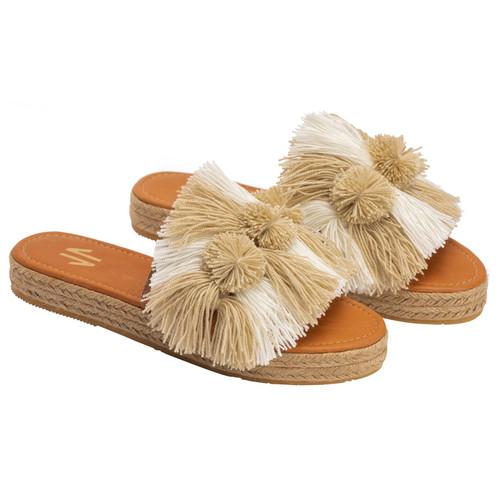 Trendy Sandals Silvia Cobos Salsa White